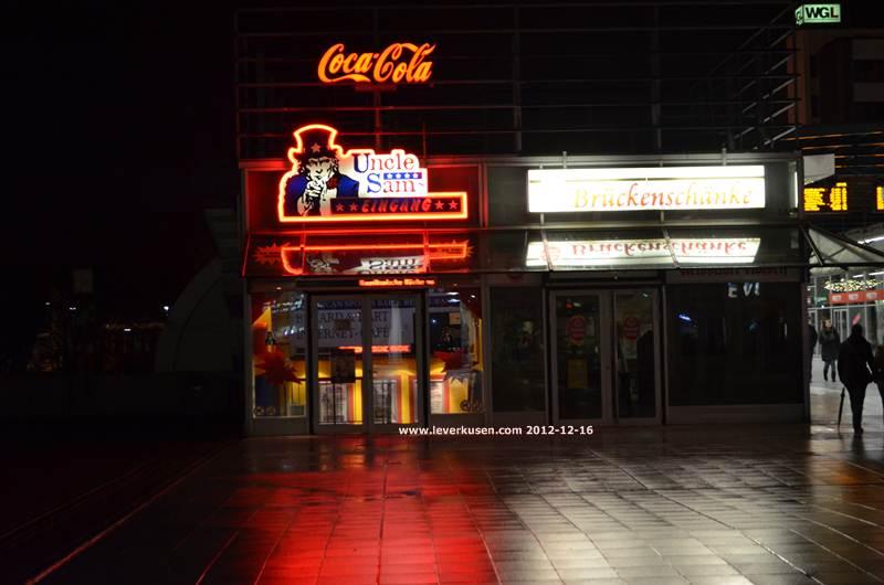 Leverkusen, Bild: Uncle Sam\'s und Brückenschänke