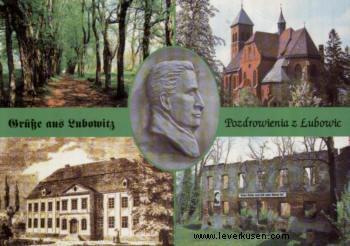 Leverkusen, Postkarte: Lubowitz