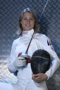 [JO 2008] Sports de combat - Escrime Femme Heidemann