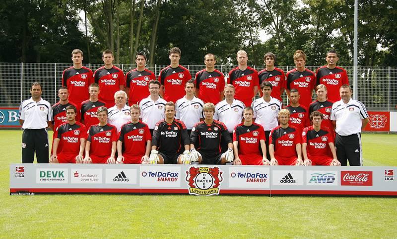 Mannschaft Leverkusen