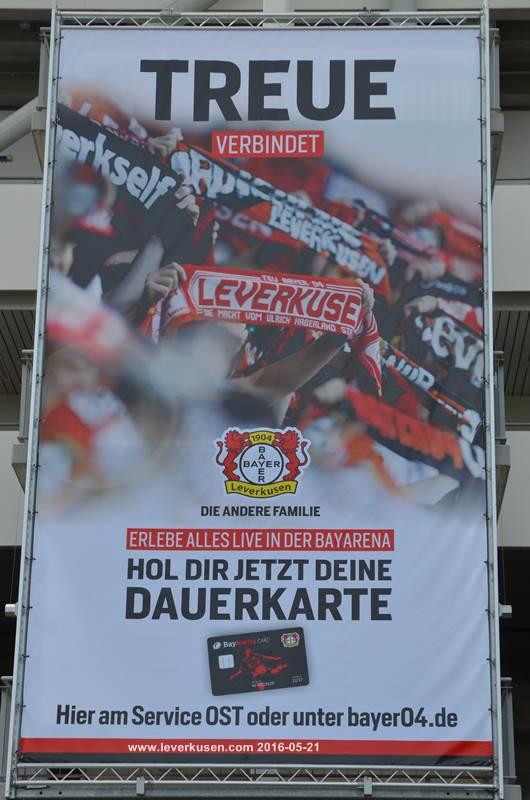 Dauerkarte Leverkusen