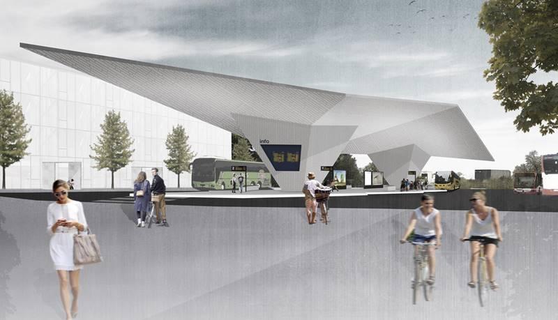 leverkusen bild busbahnhofsdach entwurf just burgeff. Black Bedroom Furniture Sets. Home Design Ideas