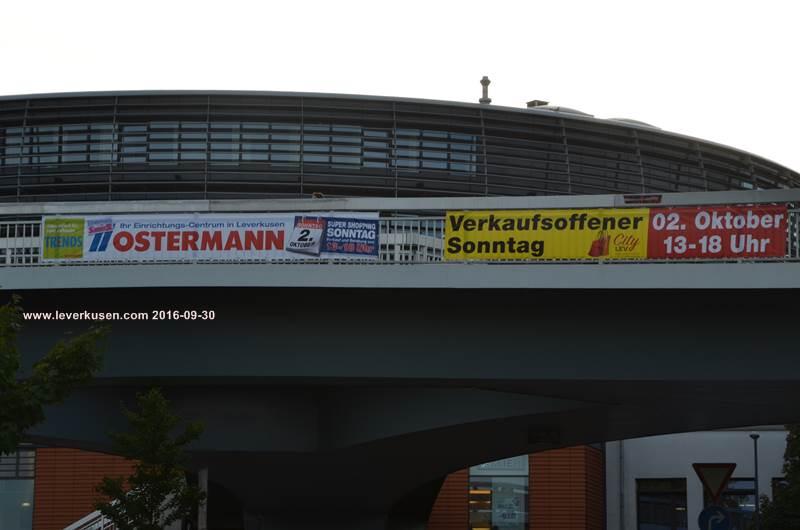 Leverkusen Bild Verkaufsoffener Sonntag Banner