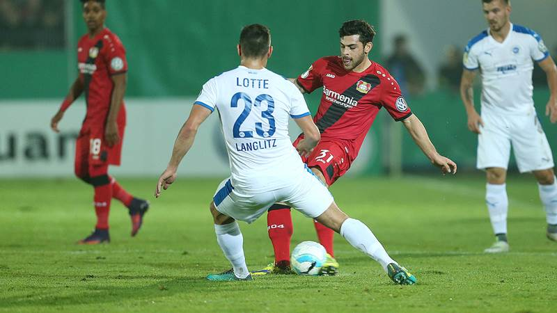 Lotte Leverkusen Dfb Pokal