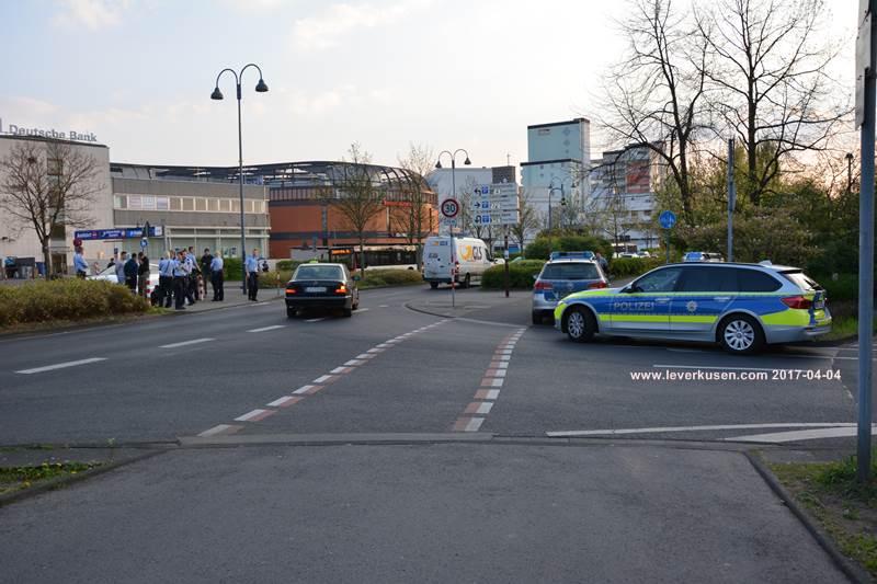 Polizeieinsatz Leverkusen
