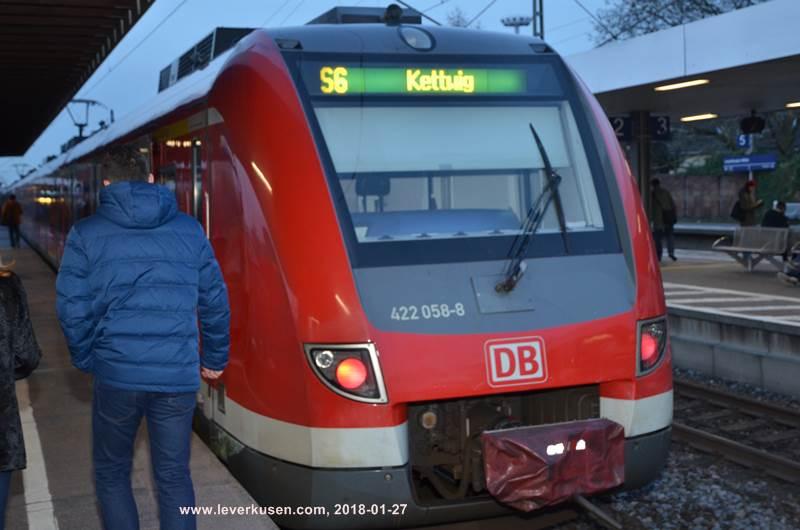 Leverkusen Köln S Bahn